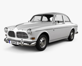 Volvo Amazon coupe 1961 3D model
