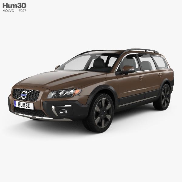 Volvo XC70 2013 3D model