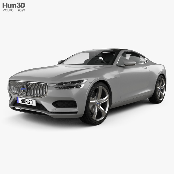 Volvo XC Concept Coupe 2013 3D model