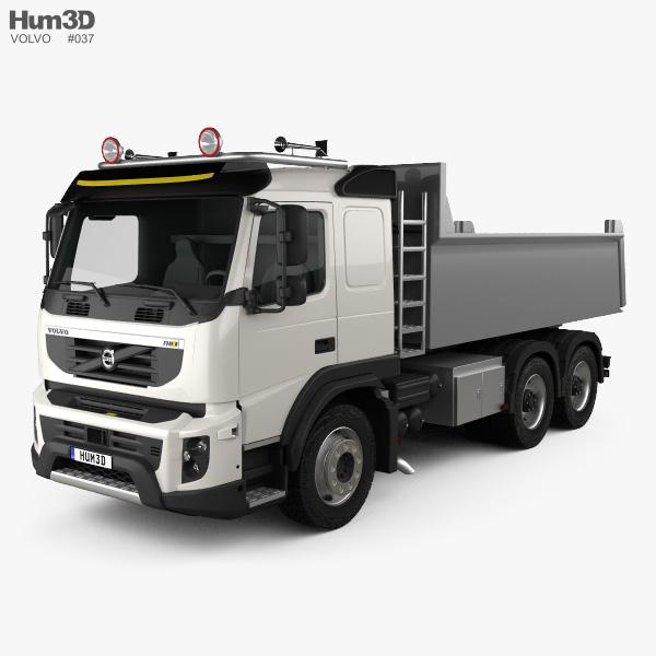 Volvo FMX Tipper Truck 2010 3D model