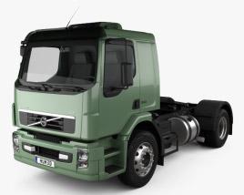 3D model of Volvo VM Tractor Truck 2012
