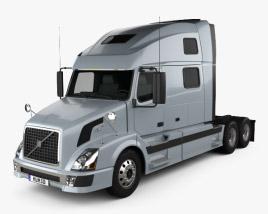 Volvo VNL Tractor Truck 2002 3D model