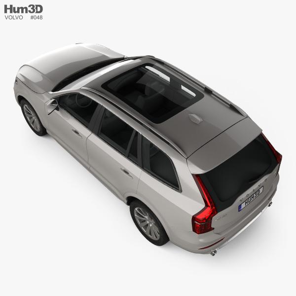 Volvo XC90 T5 2015 3D model
