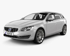 3D model of Volvo V60 2013