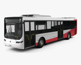 3D model of Volvo B7RLE Bus 2015