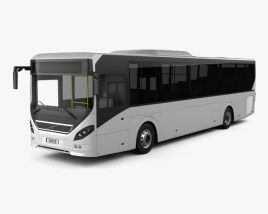 3D model of Volvo 8900 Bus 2010