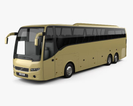 3D model of Volvo 9900 Bus 2007