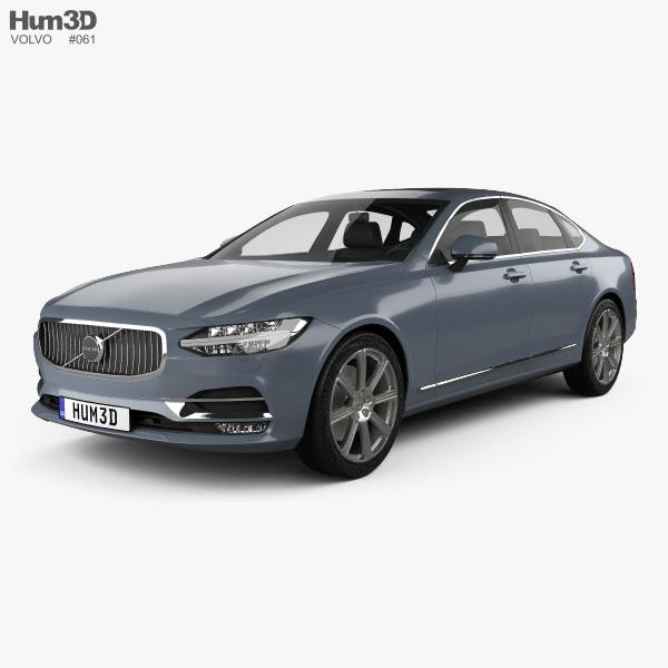 Volvo S90 2017 3D model