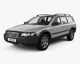 3D model of Volvo XC70 2002