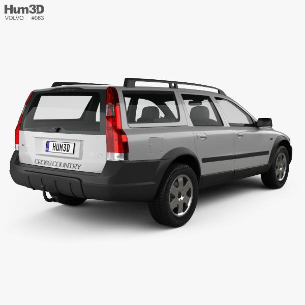 Volvo XC70 2002 3D model