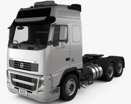 Volvo FH Tractor Truck 3-axle 2008 3D model