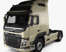 Volvo FM 410 Camion Trattore 2013 Modello 3D
