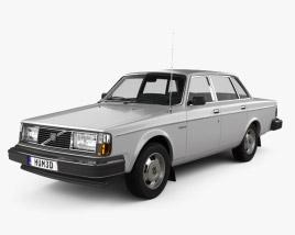 3D model of Volvo 244 1979