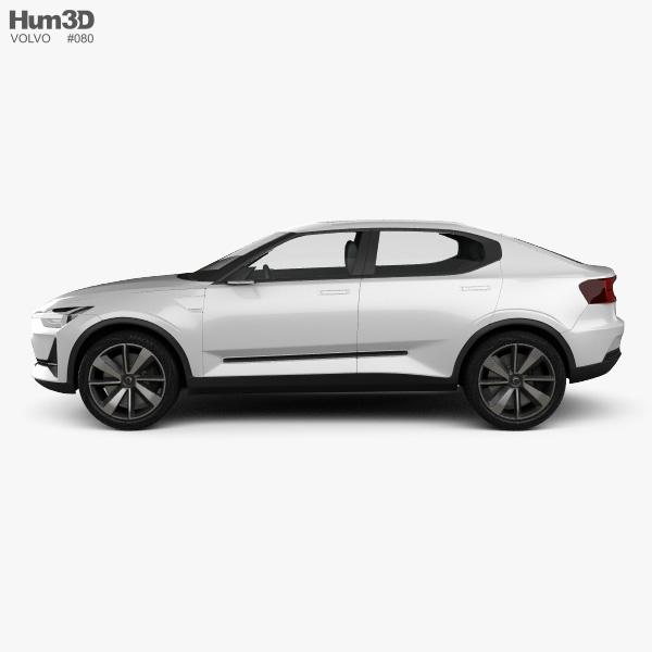 Volvo 40.2 2016 3D model