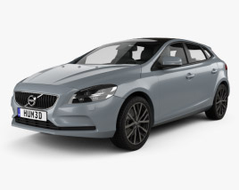 3D model of Volvo V40 T4 Momentum 2016