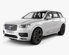 3D model of Volvo XC90 Heico 2016