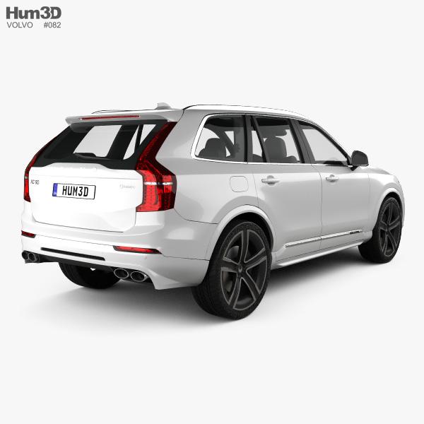 Volvo XC90 Heico 2016 3D model