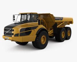 3D model of Volvo A40G Dump Truck 2014