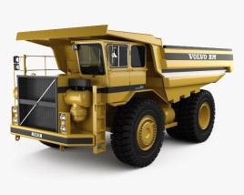 3D model of Volvo BM Kockum 565 Dump Truck 2016
