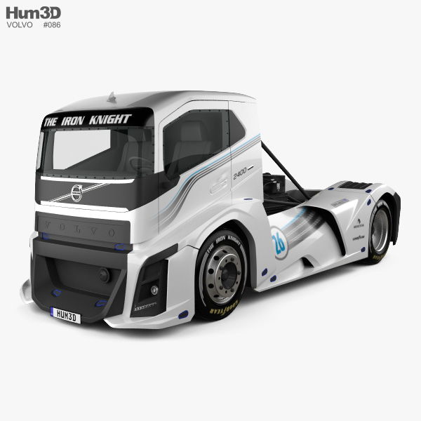 3D model of Volvo The Iron Knight Truck 2016