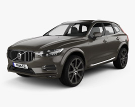3D model of Volvo XC60 Inscription 2017