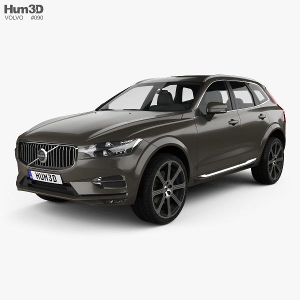 3D model of Volvo XC60 Inscription 2017
