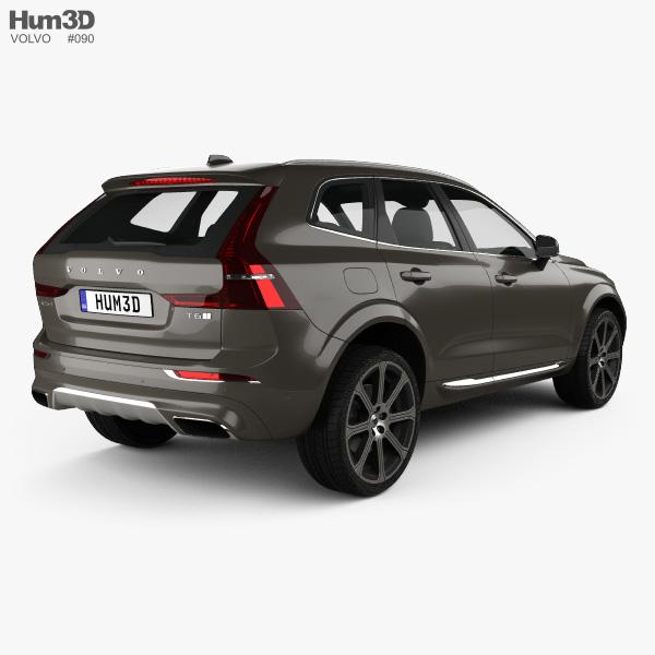 Volvo XC60 Inscription 2017 3D model