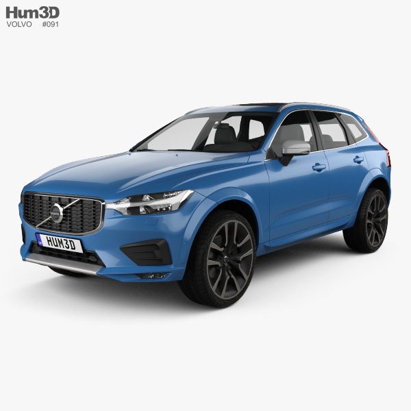 Volvo XC60 R-Design 2017 3D model