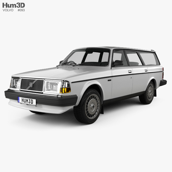 Volvo 245 1984 3D model