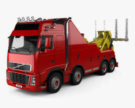 3D model of Volvo FH Tow Truck 2008