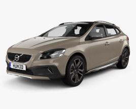 Volvo V40 T5 Cross Country 2016 3D model