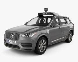 3D model of Volvo XC90 T8 Uber 2015