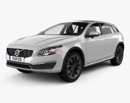 3D model of Volvo V60 D4 Cross Country 2015