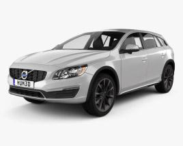 Volvo V60 D4 Cross Country 2015 3D model