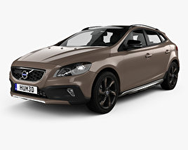 3D model of Volvo V40 D3 Cross Country 2012
