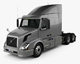 3D model of Volvo VNL (630) Tractor Truck 2011