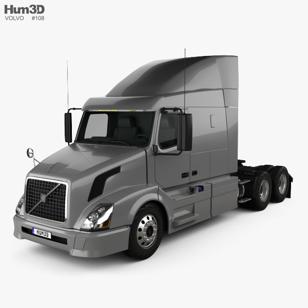 Volvo VNL (630) Tractor Truck 2011 3D model