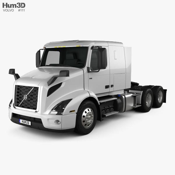 Volvo VNR (400) Tractor Truck 2018 3D model