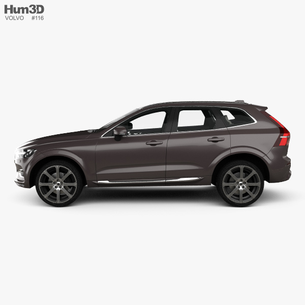 Volvo XC60 T6 Inscription with HQ interior 2017 3D model