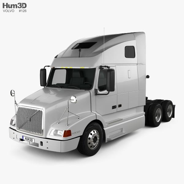 Volvo VNL (670) Tractor Truck 2000 3D model
