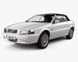 3D model of Volvo C70 convertible 1999