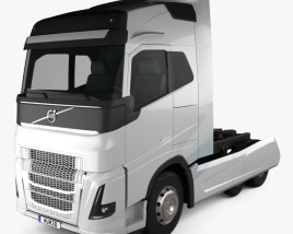 3D model of Volvo FH Tractor Truck 2016