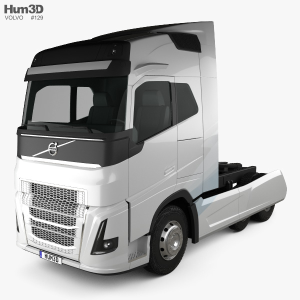 Volvo FH Tractor Truck 2016 3D model