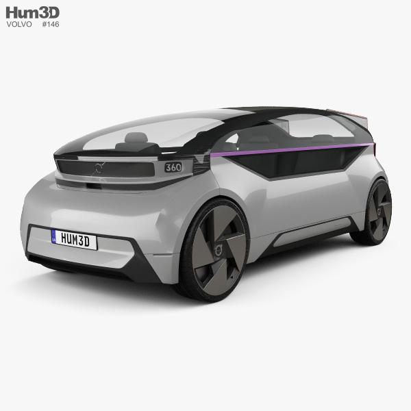 Volvo 360c 2018 3D model