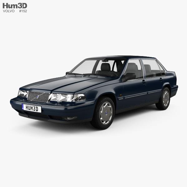 Volvo 960 sedan 1994 3D model