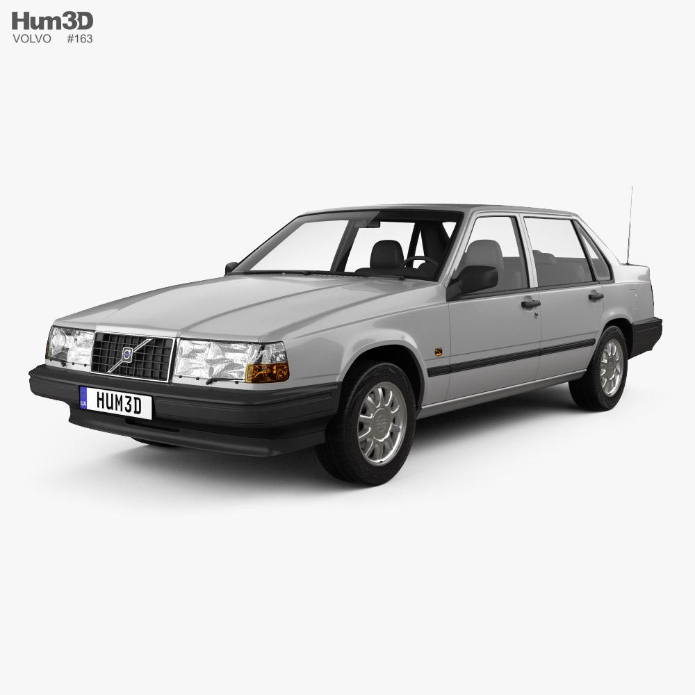 Volvo 940 1995 3D model
