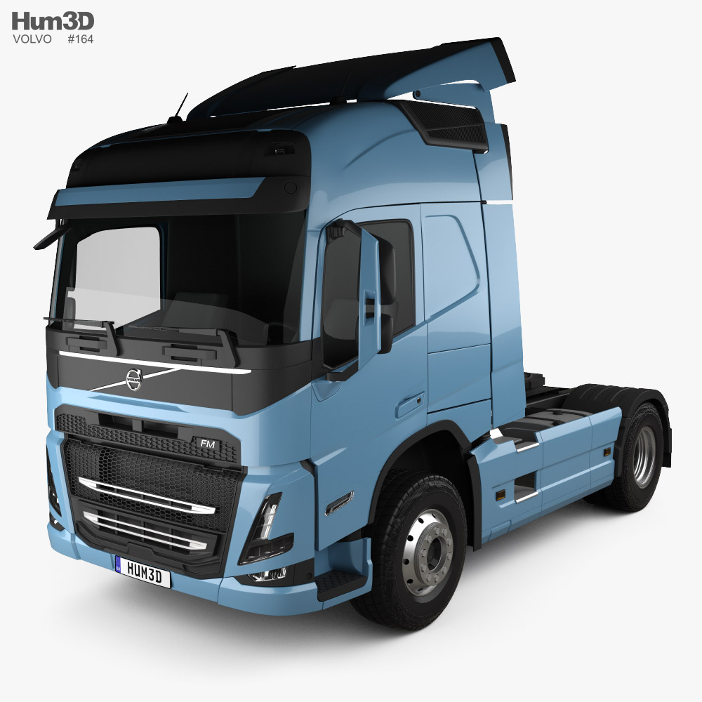 3D model of Volvo FM Tractor Truck 2020