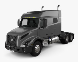 Volvo VNX 740 Tractor Truck 2020 3D model