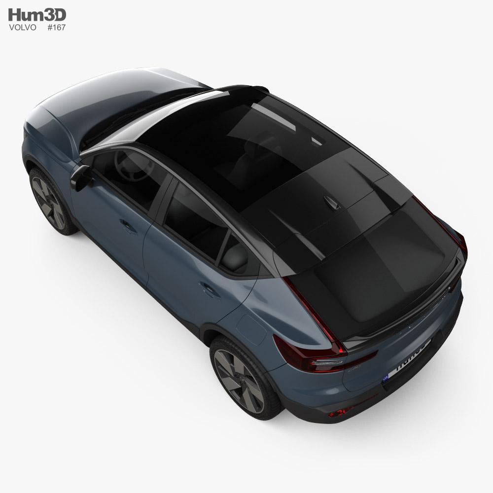 Volvo C40 Recharge 2021 3D model