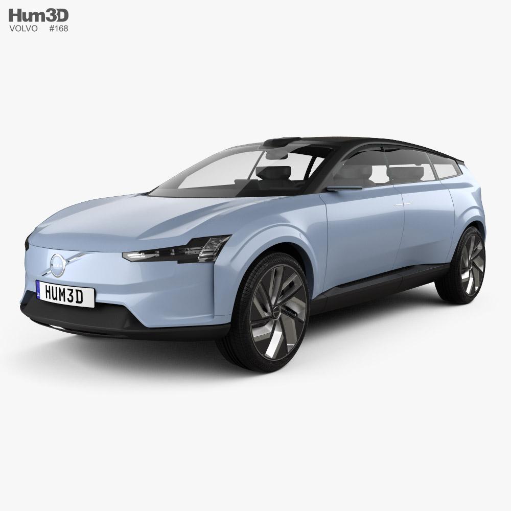 Volvo Recharge 2021 3D model